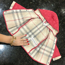 12 Months (9m+) Authentic Burberry Jacket Boy Girl Blanket Quilted Hooded Coat