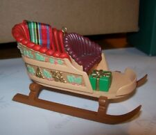Hallmark Collector'S Club Christmas Ornament 1988 Sleighful Of Dreams In Box