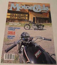 Classic MC 9/91 Norton Atlas,Francis-Barnett Cruiser 84, EMC split single, Cedos
