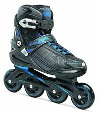 Roces Stripes Roller en ligne Black Astro Blue taille 45 *NEUF*