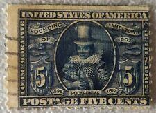 Stati Uniti 5 cent 1907 Pocahontas usato Mi: US 161
