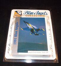 BLUE ANGELS   Complete Trading Card  Set   U.S. NAVY  F/A-18 Hornet Fighter Jet