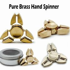 2pcs PURE BRASS Fidget Spinner High Speed . Combine Your Own From 5 Color .
