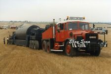 Heavy Haulage Photo Econofreight Scammell Contractor Tractor Reg № XFA217X  #3