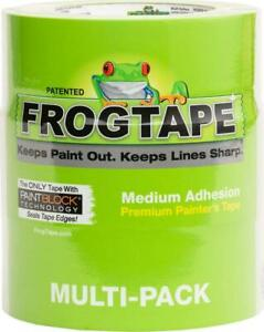FROGTAPE 240661 Multi-Surface Painter's Tape with PAINTBLOCK, Medium Adhesion, 1