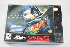 Batman Forever (Super Nintendo SNES) NEW Factory Sealed #B1234