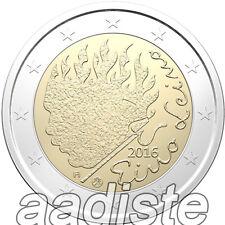 2 EURO 2016 - FINLANDIA FINNLAND FINLAND - EINO LEINO - FDC UNC