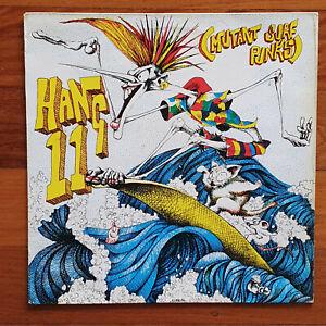 SURFING SURF VINYL LP HANG 11 MUTANT SURF PUNKS 1985