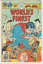 DC World's Finest Superman & Batman No. 238 dated 1976 Poor condition!
