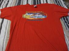 Vintage San Fransisco California Surfing Raglan  T Shirt ADULT LARGE LOOK