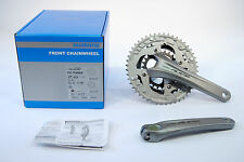 Shimano FC-T4060 Alivio Triple Mountain Bike Crankset, 170mm, 48-36-26,3x9 Speed