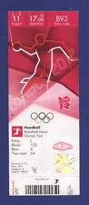 Orig.Ticket  Olympic Games LONDON 2012    HANDBALL  3.Place  SOUTH KOREA - SPAIN