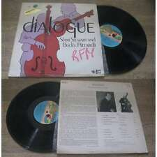 Slam Stewart And Bucky Pizzarelli - Dialogue LP Jazz Sonet 1979