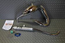 TOOMEY B1 Yamaha Blaster aftermarket exhaust pipe + silencer CHROME PLATED