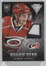 2013 Panini Anthology Titanium Update Gear /25 Jared Staal #RG-JAS Rookie Patch