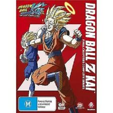 DRAGON BALL Z KAI :FINAL CHAPTERS COLLECTION 1 2 & 3   - BLU RAY Sealed Region B