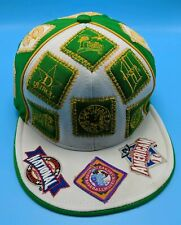 NEGRO LEAGUES BASEBALL MUSEUM fitted white / green cap - size XL / 7 5/8