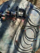 New listing Nitrous Solenoids 2 Stage Plate And Lines Lot