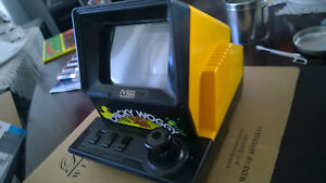 VINTAGE TABLETOP V TECH CHICKY WOGGY ELECTRONIC TINI ARCADE WORKS PERFECTLY