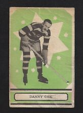 1933 OPC V304A #1 Danny Cox RC, Vintage Ottawa Senators NHL Hockey 1933-34