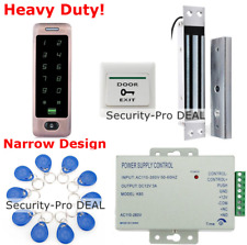 Waterproof 125KHz RFID Card+Password Access Control+Electromagnetic Lock+10 Card