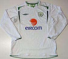 IRELAND 2005/2006/207 AWAY FOOTBALL SHIRT JERSEY UMBRO SIZE L ADULT