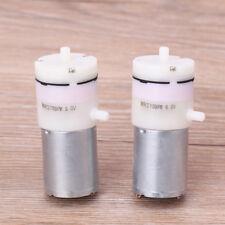 DC 3V-6V 5V 370 Motor Mini Micro Air Pump Vacuum 2Pcs For Aquarium Tank Oxygen