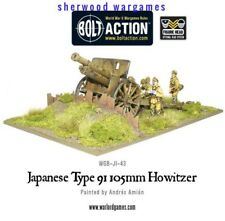 28mm Warlord Imperial Japanese Type 91 105mm Howitzer BNIB WWII Bolt Action