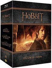 TRILOGIA EL HOBBIT EXTENDIDA  Blu-ray  agotadas en tiendas!!NO ACEPTAMOS OFERTAS