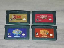 Video Game Cartridge Card The Legend of Zelda Series Gameboy Advance game card