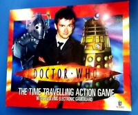 DOCTOR WHO THE TIME TRAVELLING ACTION GAME COMPLETE GOOD CONDITION DR WHO TARDIS