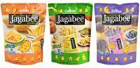 Calbee Jagabee Original Seaweed Purple Potato Sticks 17g x 15 Packs Mixed Snack