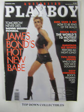Playboy  Australian Magazine Feb, 1998  Daphne Deckers, James Bond Hot New Chick
