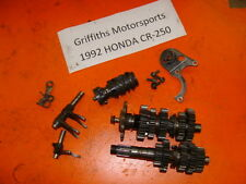 92-01 HONDA CR250R CR250 COMPLETE TRANNY TRANSMISSION GEARS SHATS FORKS DRUM