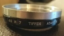 Tiffen Series 7, 46 M 7 Screw-In Lens Adapter with Retaining Ring