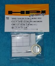 HPI Racing Threaded Pinion Gear 25T x16mm (0.8M / 2nd / 2 Speed) 77020 RS4,R40