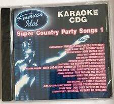 Karaoke: American Idol Super COUNTRY Party Songs 1 2004 by Karaoke - cb