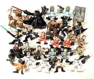 CHOOSE: 2007 Star Wars Galactic Heroes Figurine * Fair+ Cond * Combine Shipping!