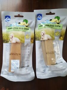 Lot of TWO,Himalayan DOG CHEW EXTRA LARGE 5.5 OZ All Natural Long Lasting