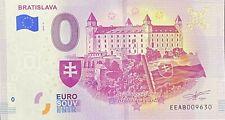 BILLET ZERO EURO BRATISLAVA 2019-2 SLOVAQUIE