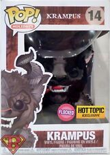 "KRAMPUS Pop Holidays 4"" inch Vinyl Flocked Figure #14 Hot Topic Exclusive 2017"