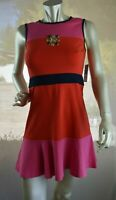 Juicy Couture Pink/Orange/Blue Dress Size 4 New With Tags