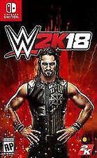 NINTENDO SWITCH WWE 2K18 BRAND NEW VIDEO GAME