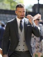 Abito Tight  uomo Personalizzato su misura coda lunga Modello David Beckham