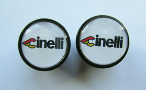 Cinelli handlebar bike caps, Cinelli Bike frame logo end plugs,Cinelli bike caps