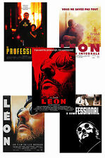 LEON THE PROFESSIONAL - SET OF 5 - A4 POSTER PRINTS # 1