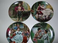 Complete King & I Plate Set Knowles 4 Plates