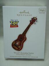 2012 Hallmark Keepsake Ornament Woody's Roundup Guitar Toy Story