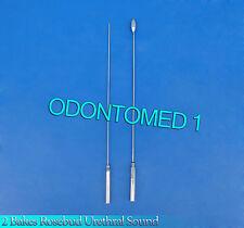 2 Pcs Bakes Rosebud Urethral Sounds 2mm+11mm