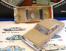 1960s Foreign Faller Opel Diplomat Slot Car Body Dk.Tan